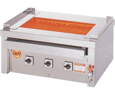 ヒゴグリラー 万能型タイプ 卓上型 3P-221WC【代引き不可】【業務用】【焼台】【串焼き】【蒲焼】【電気グリラー】【下火】【魚焼器】【網焼き】【コンパクト】