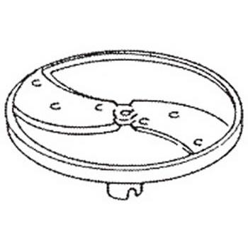 ロボクープ 野菜スライサー CL-52D・CL-50E用刃物円盤 スライス盤 (2枚刃) 2mm