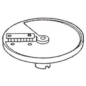 ロボクープ 野菜スライサー CL-52D・CL-50E用刃物円盤 角千切り盤 2mm×6mm