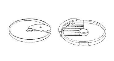 ロボクープ 野菜スライサー CL-52D・CL-50E用刃物円盤 フレンチフライ盤 10mm×10mm (2枚セット)【代引き不可】