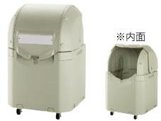 ワイドペールST 350 キャスター付【代引き不可】