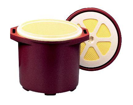 プラスチック保温食缶ごはん用DF-R2(小)