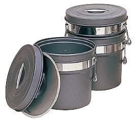 アルマイト 段付二重食缶 (内外超硬質ハードコートアルマイト仕上) 248-H