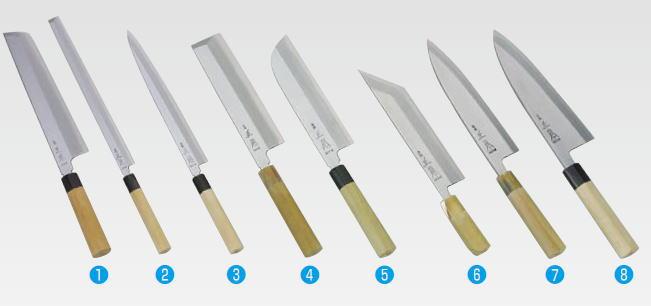 正本 本霞・玉白鋼 鱧切庖刀 KS1033【代引き不可】