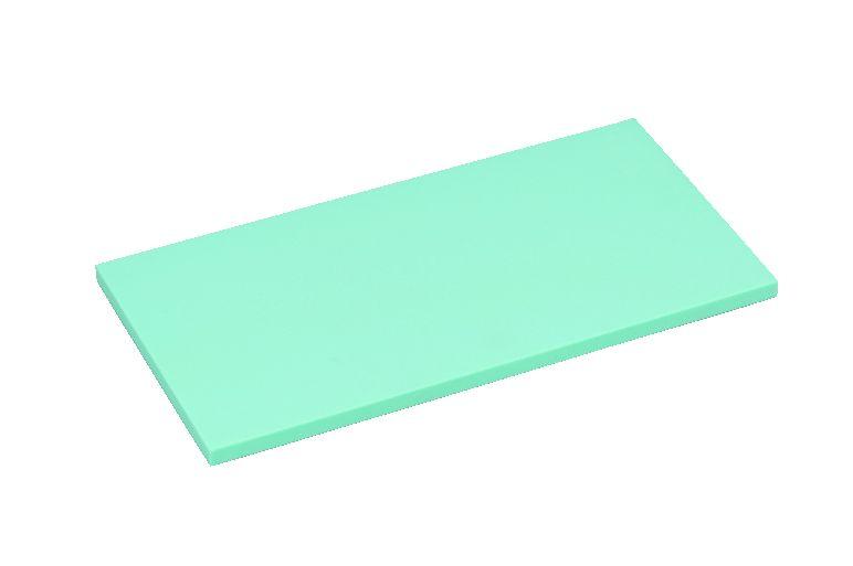 K型オールカラー プラスチックまな板ブルーK16B 厚30mm【代引き不可】