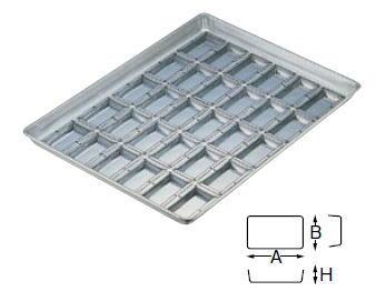 シリコン加工 シャンテーヌ浅型 天板 30面