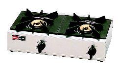 2口ガステーブル RSB-206SV (立消安全装置 付) (ガス種:プロパン) LP