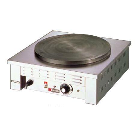 クレープ焼器 EC-2000【代引き不可】【【業務用】【電気クレープ焼機 エイシン クレープ焼器】