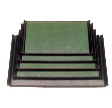 A宴盆 グリーン石目渕黒 1-52-30 2尺1寸
