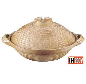 電磁用手造り楽鍋 (新幸楽) 30cm