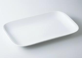 白 18吋角プラター