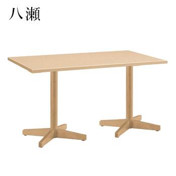 テーブル 八瀬シリーズ ナチュラルクリヤ サイズ:W1500mm×D750mm×H700mm 脚部:HTN (1本脚?2)【代引き不可】