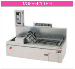 マルゼン ガス式 ガス卓上エプロン式コンベアフライヤー MGFR-126TR(L)B【代引き不可】【業務用 フライヤー】【揚げ物】