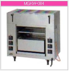 マルゼン ガス式 両面式焼物器《スピードグリラー》 MGKW-084【代引き不可】【魚焼機】【業務用焼き物機】【グリラー】