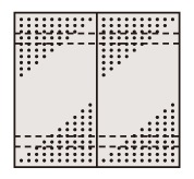 ステンレスパンチングウォールシステム PO-452LSU【代引き不可】