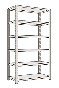軽量開放型棚ボルトレス KF2326【代引き不可】, ますや雲湧堂:4fb8f80c --- officewill.xsrv.jp