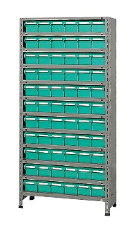物品棚LEK型樹脂ボックス LEK1112-60T【代引き不可】