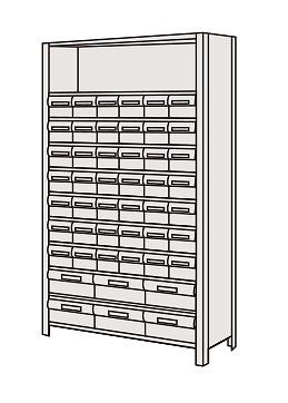 物品棚LEK型樹脂ボックス LEK1121-48T【代引き不可】
