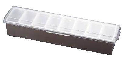 コンジメントディスペンサー レギュラー 4746 8ヶ入 ブラウン【薬味容器】【薬味入れ】【業務用保存容器】【TRAEX】【業務用】