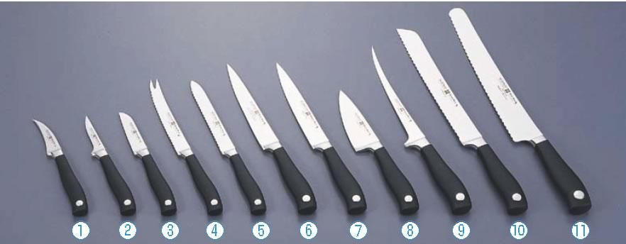 ヴォストフ グランプリ2 トマトナイフ 410414cm【業務用包丁】【キッチンナイフ】【洋包丁】【WUSTHOF】【業務用】