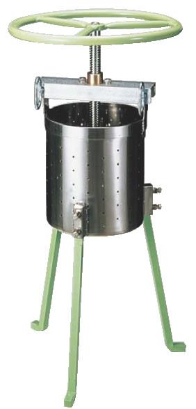 SA18-8 餃子絞り器 【代引き不可】【脱水機 水切り機】【ギョーザ】【18-8ステンレス】【Ω】【業務用】