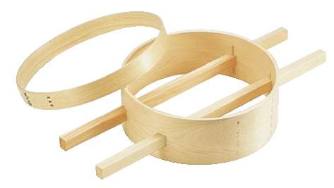 木製内棒式ダシコシ輪 33cm 【だし】【うらごし フルイ】【裏漉し】【笊】【篩】【業務用】