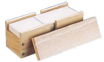 木製業務用かつ箱(タモ材) 小 【だし】【鰹節】【うらごし フルイ】【削り節器】【鉋】【業務用】