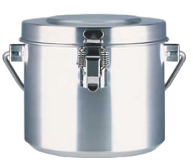 18-8高性能保温食缶(シャトルドラム) GBC-02【給食】【仕出し】【業務用】