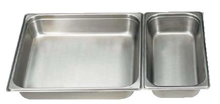 人気定番の 18-8テーブルパン[2] 2/1×40mm 2211A[2] 【ステンレスホテルパン】【ステンレステーブルパン】【18-8ステンレス】【業務用】, ブランドショップアルカンシェル 4bf4a2cc