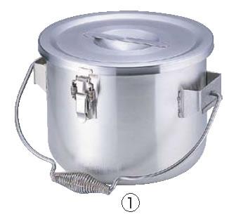 Murano(ムラノ)18-8真空食缶 (フック付) 6L 【ステンレス真空食缶】【業務用ポット】【18-8ステンレス】【Murano】【業務用】