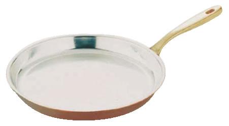 SW銅丸シュゼットパン 28cm【銅両手鍋】【業務用】