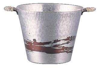 銅錫被 刷毛目アイスペール SG002【氷入れ】【業務用】