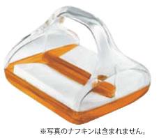 グッチーニ ペーパーナプキンホルダー 2370.0045 オレンジ【ナフキンスタンド】【ナフキン立て】【業務用】