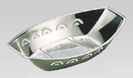 MA18-8舟型 おしぼり入れ 大 記念日 業務用 初売り おしぼり置き おしぼり皿
