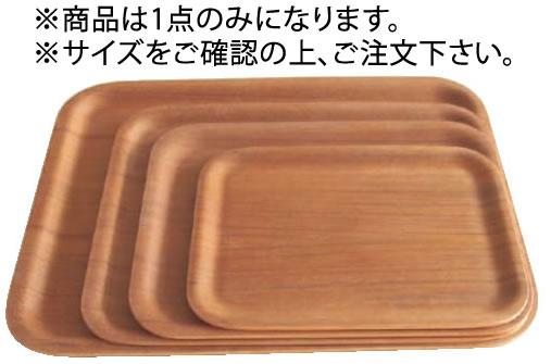 ノンスリップ レクタン マットトレイ 45151 チーク SS トレー 蔵 トレイ 新色追加して再販 お盆 業務用 木製