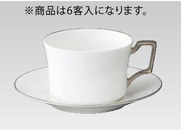 ボーンチャイナ カップ&ソーサー 6客入 93687C・S/4839【Noritake】【ノリタケ】【コーヒーカップ】【コーヒーコップ】【ティーカップ】【ティーコップ】【紅茶カップ】【業務用】