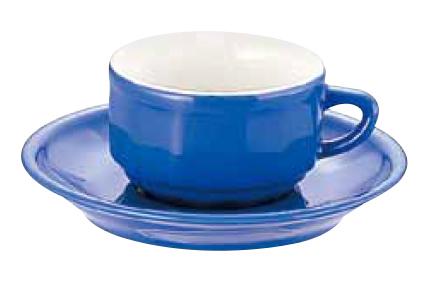 アピルコ フローラ モカカップ&ソーサー(6客入) PTFL M FL ブルー【APILCO】【コーヒーカップ】【コーヒーコップ】【ティーカップ】【ティーコップ】【紅茶カップ】【業務用】