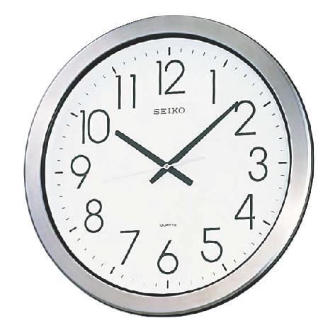 セイコー 防湿・防塵型クロック KH407S【掛け時計】【掛時計】【ウォールクロック】【業務用】