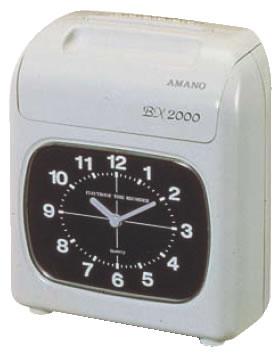 電子タイムレコーダー BX2000【代引き不可】【タイムカード打刻機】【業務用】