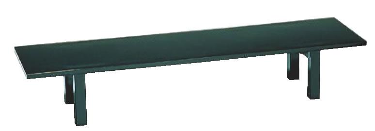 宴会机 黒乾漆調メラミンTS46-08K 900×450×H320mm【代引き不可】【座敷机】【座敷テーブル】【ローテーブル】【宴会テーブル】【業務用】