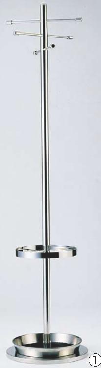 SAコートハンガー SC-1700 (傘立付)【代引き不可】【遠藤商事】【ハンガー】【服掛け】【業務用】