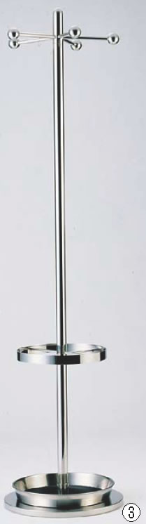 SAコートハンガー SC-1650 (傘立付)【代引き不可】【遠藤商事】【ハンガー】【服掛け】【業務用】