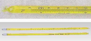 標準棒状温度計 JC-1151 1号 0~50度【thermometer】【業務用】