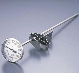 スライドホルダー付 寸胴鍋用温度計 PY-400 400型【thermometer】【業務用】
