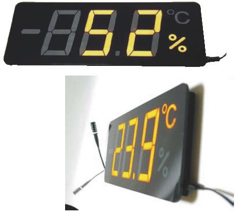 薄型温湿度表示器 メンブレンサーモ TP-300HA【代引き不可】【thermometer】【業務用】