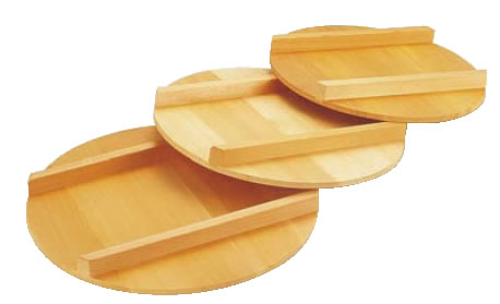 木製 飯台用蓋(サワラ材) 66cm用【飯きり】【寿司桶】【半切】【業務用】