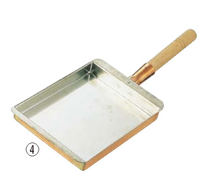 SA銅 玉子焼 関西型 24cm【だし巻き】【伊達巻パン】【業務用】