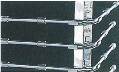 SA18-8回転式ディッシュ・スタック 48 ユニバーサル 【代引き不可】【カート ラック ワゴン】【スタッキング】【ワゴン 配膳車】【18-8ステンレス】【Ω】【ディッシュスタック】【業務用】