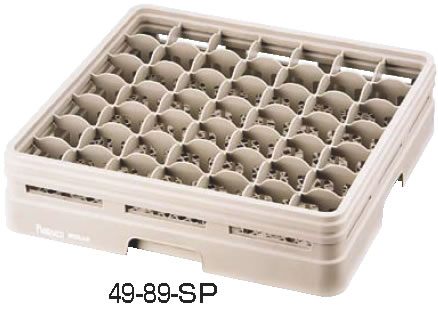 レーバン ステムウェアラック フルサイズ 49-146-SP 【グラスラック ステムウェアラック】【洗浄用ラック】【Raburn】【食器洗浄機用ラック】【業務用】