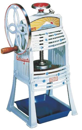 初雪 手動式ブロックアイススライサー HA-110S【代引き不可】【かき氷機】【かき氷器】【業務用】